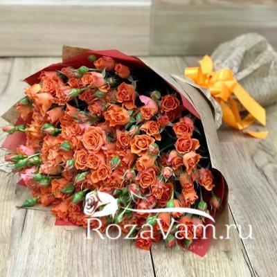 Букет из кустовых роз 29 in