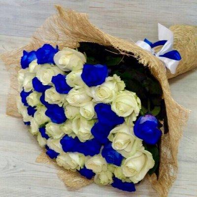 Синие розы купить недорого подарок мужчине день рождения екатеринбург