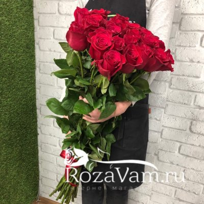 Букет из 15 метровых роз