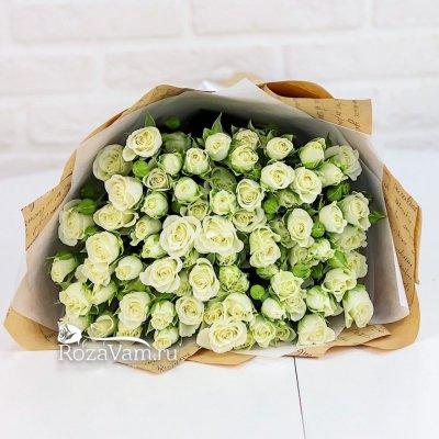 Букет из  25 кустовых роз 50 см