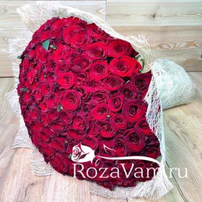 Букет из 151 розы 80 см