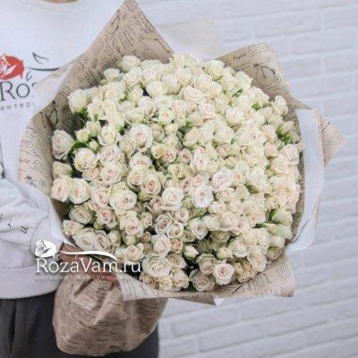 Букет из 51 кустовой розы Яна 70 см