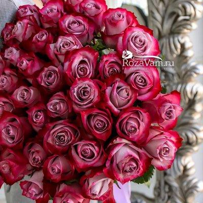 Букет из 51 розы эквадор 70 см