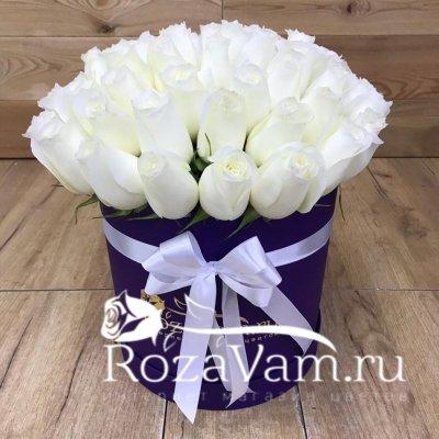 Коробка из 51 розы эквадор