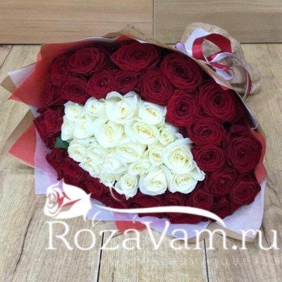 Букет и 51 розы