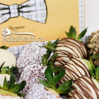 Набор клубники в шоколаде 12 шт
