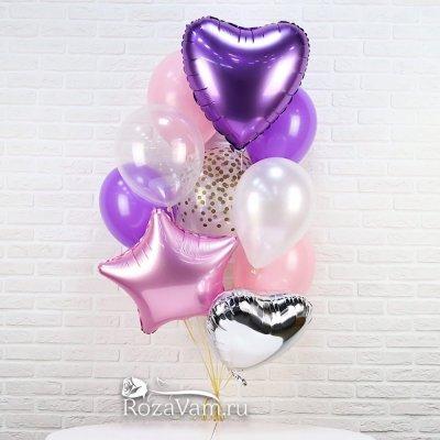 связка праздничных шаров №2