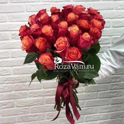 Букет из 25 роз Эквадор Богард