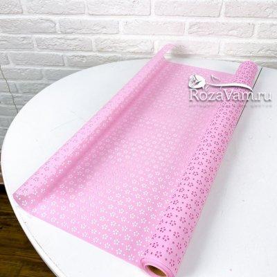 Пленка розовая с перфорацией