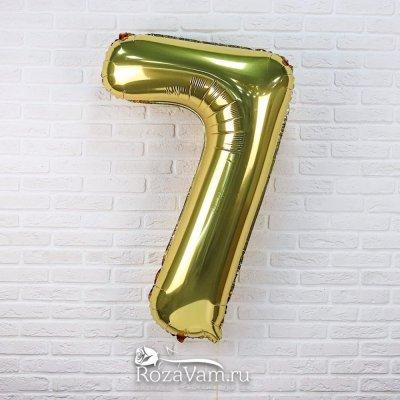 Шар из фольги   цифра 7