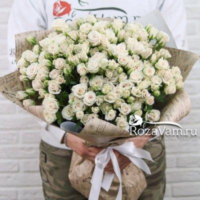 Букет из 39 кустовых роз Яна