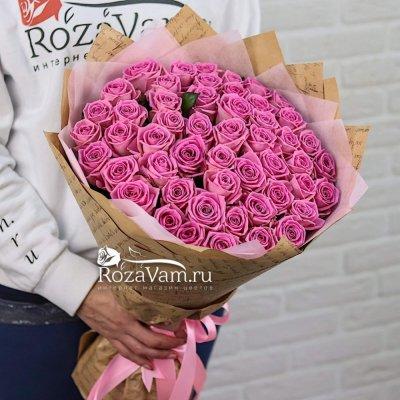 Букет из 51 розы (50 см)